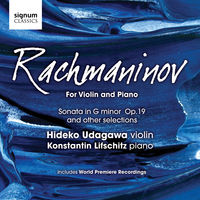 Konstantin Lifschitz - For Violin & Piano