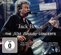 Jack Bruce - Rockpalast: The 50th Birthday Concerts