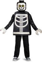 LEGO - LEGO Guy Skeleton Classic (Child Size Small, 4-6)