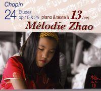 Mélodie Zhao - Chopin 24 Etudes at 13