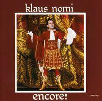 Klaus Nomi - Encore [Import]