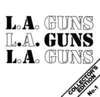 L.A. Guns - Collector's Edition No. 1 EP [Blue Vinyl]