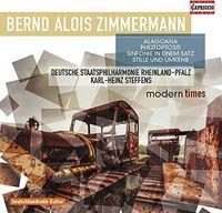 Zimmermann / Steffens / German Phil Orch Rhineland - Orchestral Works
