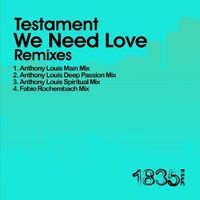 Testament - We Need Love (Anthony Louis Mixes)