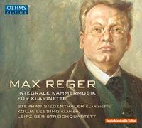 KOLJA LESSING - Reger: Complete Chamber Music For Clarinet