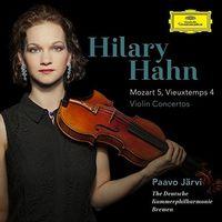Mozart / Hilary Hahn - Mozart: Violin Concerto 5 / Vieuxtemps: Violin
