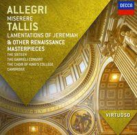 The Sixteen - Virtuoso: Allegri: Miserere; Tallis: Lamentations