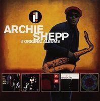 Archie Shepp - 5 Original Albums (Box)