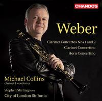 Michael Collins - Clarinet Ctos & Concertino & Horn Concertino