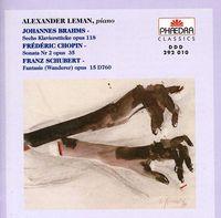 J. BRAHMS - Sechs Klavierstucke / Sonata No 2 Op 35