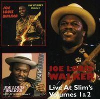 Joe Louis Walker - Vol. 1-2-Live At Slims [Import]