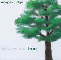 Acapeldridge - Whatever Is True
