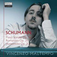Vincenzo Maltempo - Schumann: Piano Sonata Op.14-Romanzen Op.28 (Uk)