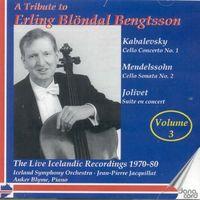 Erling Blöndal Bengtsson - Erling Blondal Bengtsson Vol 3