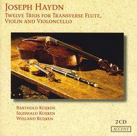 BARTHOLD KUIJKEN - Twelve Trios for Transverse Flute Violin
