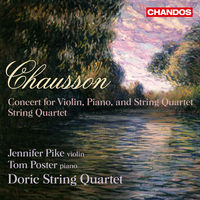 Doric String Quartet - Concert for Violin Piano & String Quartet