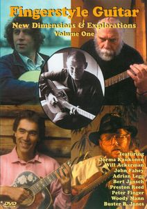 Fingerstyle Guitar: New Dimensions and Explorations: Volume 1