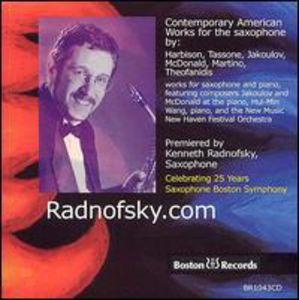 Celebrating 25 Years Saxophone Boston Symphony