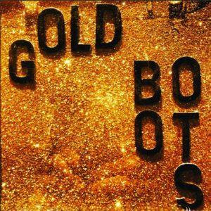 Gold Boots Glitter