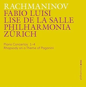 Rachmaninov: Piano Concertos 1-4 - Rhapsody on a Theme of Paganini