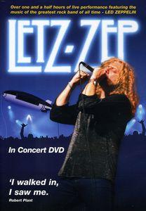 Letz Zep in Concert DVD [Import]