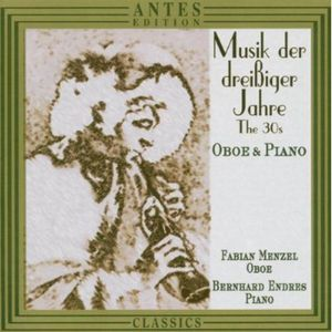 1930's Music for Oboe & Piano