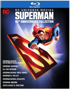 Superman: 80th Anniversary Collection (DC Universe Movies)