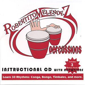 Percussions Instructional Album with Notations