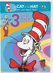 Cat in the Hat Know a Lot About That! 3 DVD Pack! (Ocean Commotion, Told From the Cold, Surprise Little Guys)