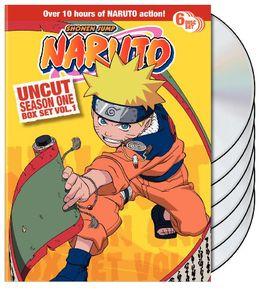Naruto Uncut Season 1: Volume 1 Box Set