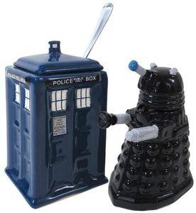 Doctor Who Cream & Sugar Set
