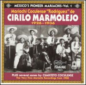 Mexicos Pioneer Mariachis 1926-36 #1