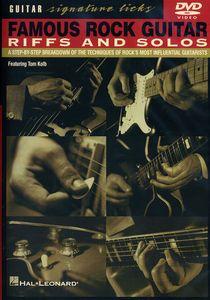 Famous Rock Guitar Riffs & Solos