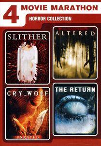 4 Movie Marathon: Horror Collection