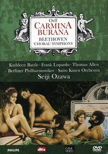 """Carmina Burana /  Beethoven """"Choral"""" Symphony"""