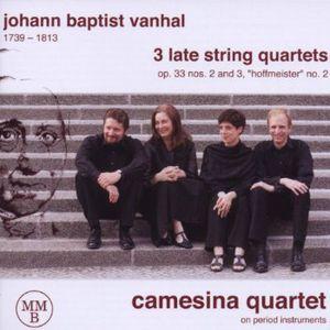 3 Late String Quartets