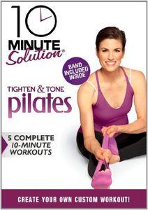 10 Minute Solution-Tighten & Tone Pilates [Import]