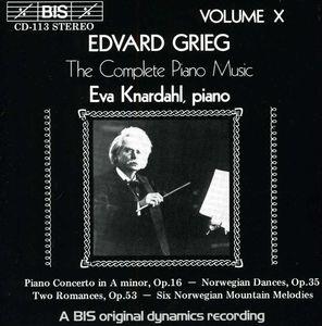 Piano Concerto /  Norwegian Dances /  Romances