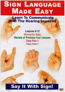 Sign Language Series 9-12