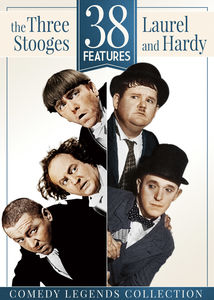 38 Features: The Three Stooges and Laurel and Hardy
