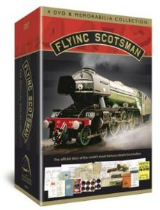 Flying Scotsman Memorabilia Set