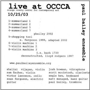Live from Occca