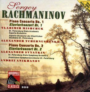 Rachmaninov: Pno Ctos Nos 1 & 2