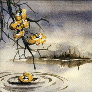 Seven Autumn Flowers