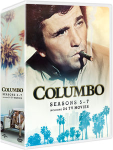 Columbo: Seasons 5-7 (Including 24 TV Movies)