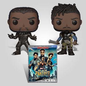 Black Panther Funko Blu-ray Bundle