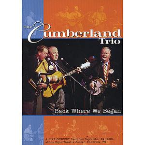DVD Back Where We Began Live