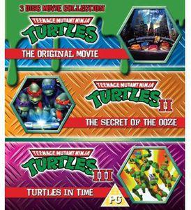 Teenage Mutant Ninja Turtles: 3-Disc Movie Collection [Import]