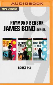 JAMES BOND SERIES BOOKS 1-3