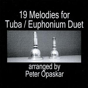 Nineteen Melodies for Tuba: Euphonium Duet
